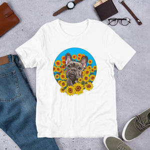French Bulldog Short-Sleeve Unisex T-Shirt - Carefree Pet