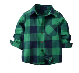 Harolds Checkered Long Sleave Button Down