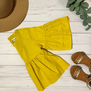 Little Miss Sunshine Bell Sleeve Top