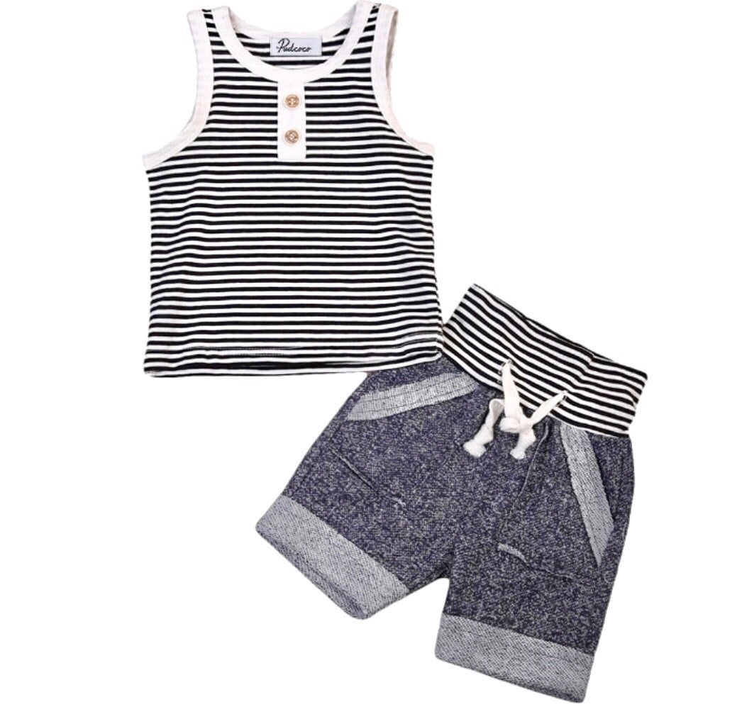 Summertime Striped Set