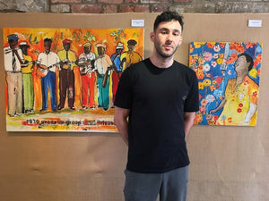 MEE: Breezin' through Burnley: A Libyan artist's love for the blues