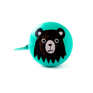 Beep Big Bear Bicycle Bell (Green)