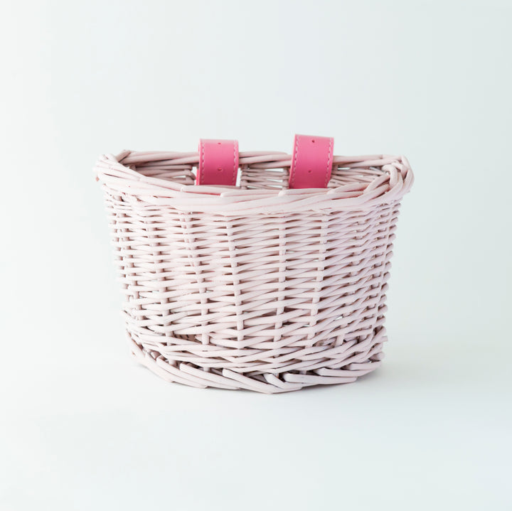 Beep Kids Bike / Scooter Basket - Blush Pink
