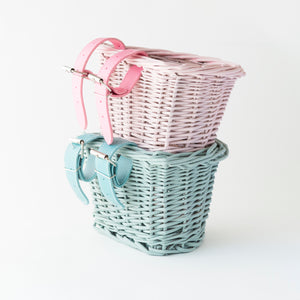 Beep Kids Bike / Scooter Basket - Minty Green