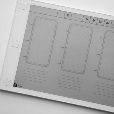 reMarkable - 3 Screen iPhone Wireframe