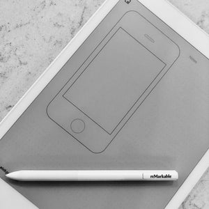 reMarkable - iPhone Wireframe Template
