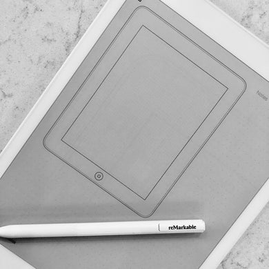 reMarkable - Tablet Wireframe Template