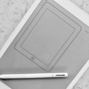 reMarkable - iPad Wireframe Template