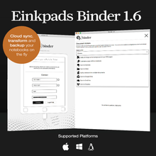 Binder - cloud document sync