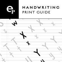 reMarkable -  Traceable Print Handwriting Guide