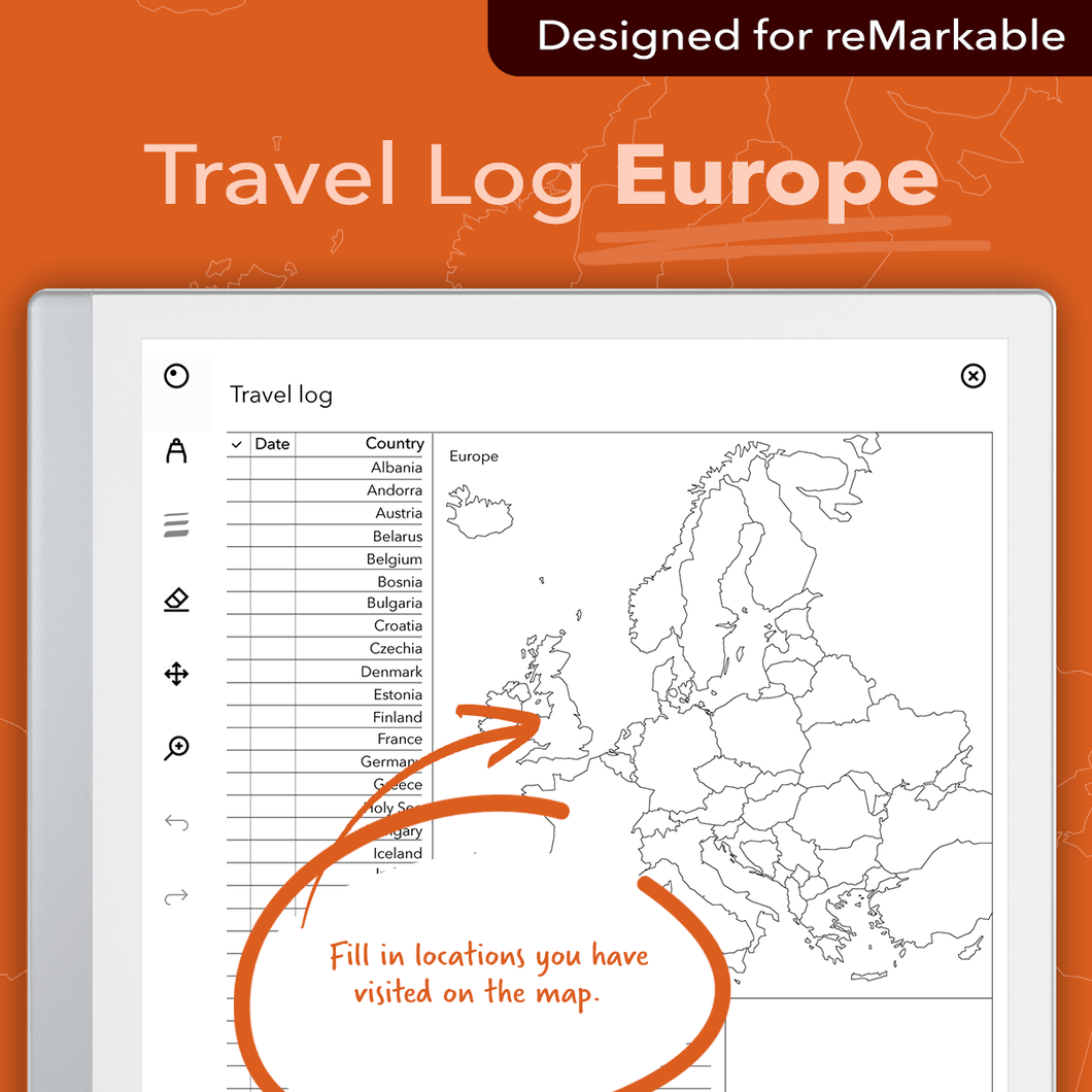Travel Log - Europe