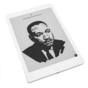 Einkpads | Martin Luther King Jr Power off Screen