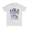 Camping Girls Drink Too Much Shirt