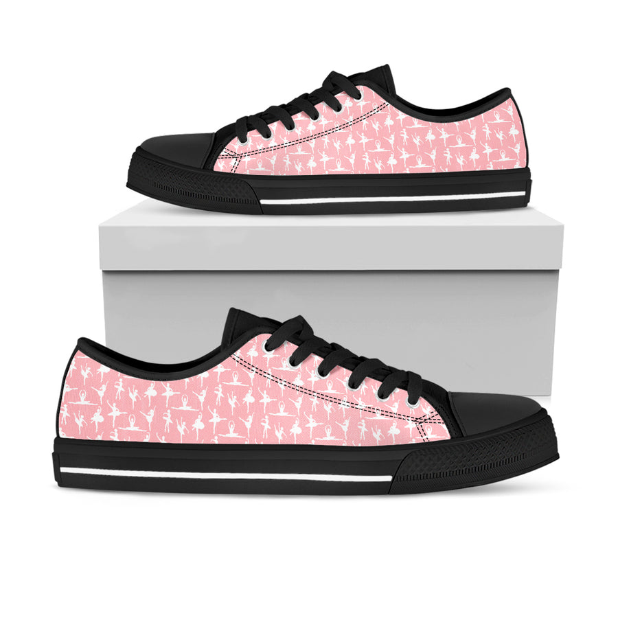 Ballet Lowtop Sneakers - Best gift for ballet lovers, ballet sneakers, ballet shoes
