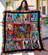 Australian Cattle Dog Quilt Blanket