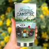 Family With 1 Kid, Life Is Better Around The Campfire,  Personalized Camping Tumbler