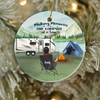 Personalized Camping Ornament, Gift Idea For The Whole Woman , Camping Lovers - 1 Woman, Making Memories One Campsite At A Time