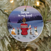 Personalized Pet Christmas Ornament Gift For Cat Dog Mom, Cat Dog Lovers  - Mom & 4 Pets Ornament - Forever In My Heart