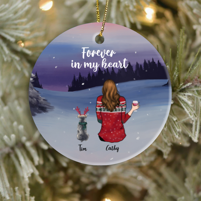 Personalized Christmas Ornament gifts for dog cat lovers