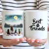 Girl and Her Pets Personalized Mug