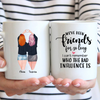 Best Friends - Two Girls Personalized Mug