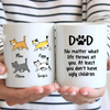 4 Cats - Personalized Mug