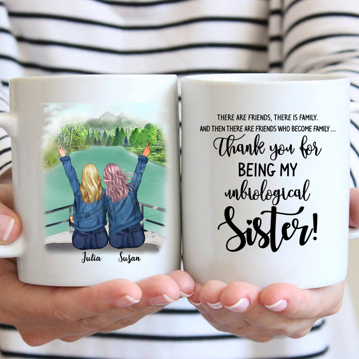 Girls On Boat - Best Friends Personalized Mug