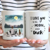 Cat Dad Personalized Mug