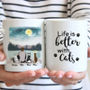 Cat Dad Personalized Mug - Love Cat