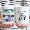 Mother and Daughter Personalized Mug