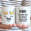 3 Cats - Personalized Mug