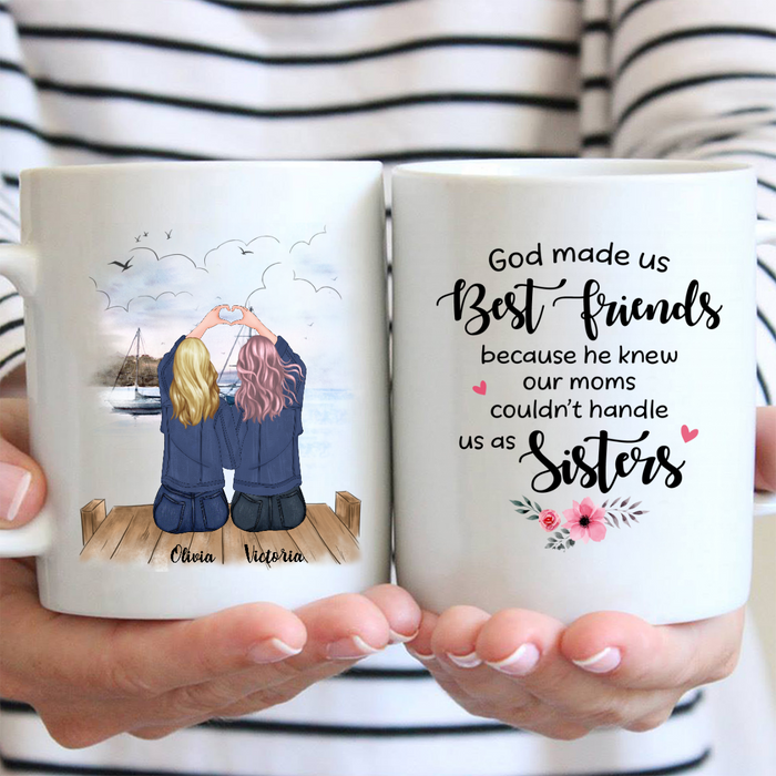 Personalized Coffee Mug Gift Idea For Best Friends - Soul Sisters