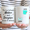 Personalized Mother's Day Gift From Daughter to Mom - Personalized State Coffee Mug - Meaningful Mother's Day Gift