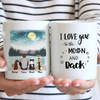 Dog Dad Personalized Mug
