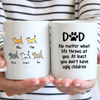 5 Cats - Personalized Mug