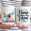 Mother, Daughter & Kids Personalized Mug