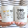 6 Cats - Personalized Mug