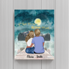 Mother And Daughter Personalized Poster