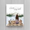 Cat Mom Personalized Poster - Forever In My Heart
