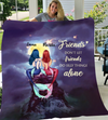 Mermaid Best Friends Personalized Fleece Blanket
