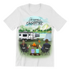 Personalized Family T-Shirt, Gift Idea For The Whole Family, Camping Lovers - Parents & Twins Camping Family T-shirt - Life is better around the campfire