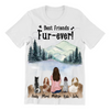 Dog Mom - Personalized T-Shirt