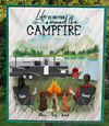 Couple With Pets , Family With 1 Pet - Camping Quilt Blanket