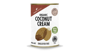 Coconut Cream Organic 400ml can (CLEARANCE - 50% off)