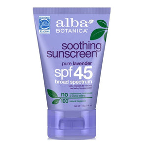 Sunscreen Lavender Soothing SPF 45