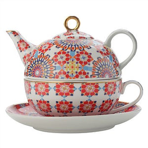 Teapot Tea for One Bukhara Red 300ml