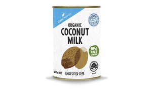 Coconut Milk Organic 400ml (CLEARANCE - 50% off)