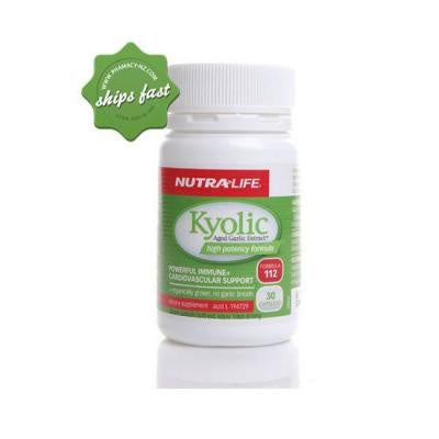 Garlic Kyolic Aged Extra High Potency 30 caps