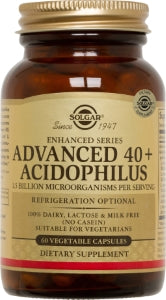 Advanced 40+ Acidophilus Probiotic 60 vcaps