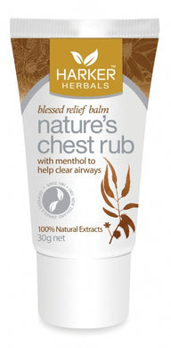 HH Natures Chest Rub 30g tube (CLEARANCE - 50% off)